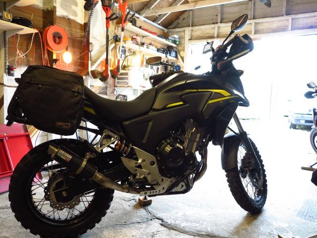 The 2015 Honda CB500X - Ready for adventure!