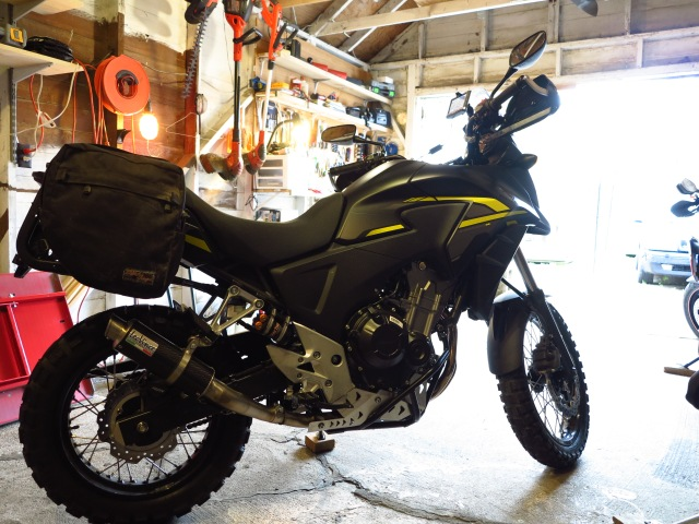 The 2015 Honda CB500X - Ready for adventure!