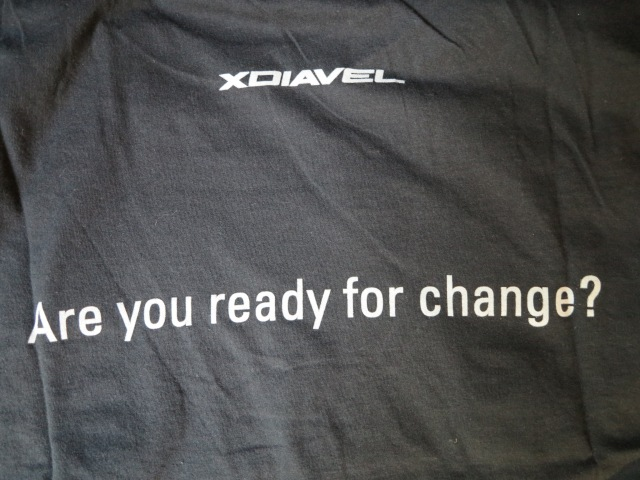 "XDiavel: ""Are you ready for change?"" summarizes the concept and the campaign about this motorcycle."