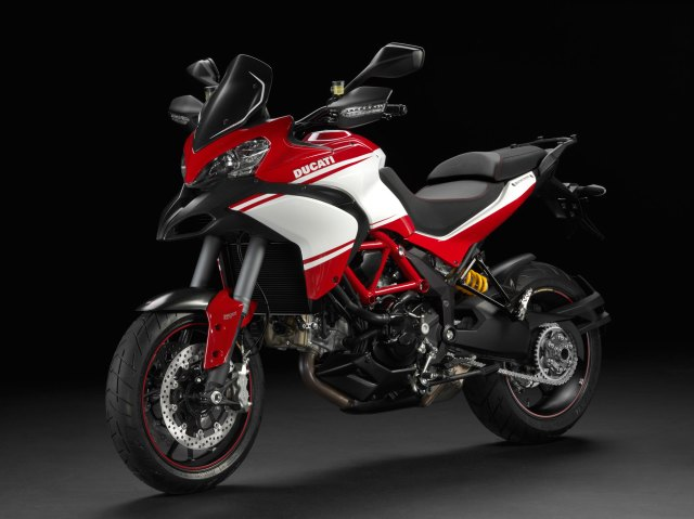 2013 Ducati Multistrada Pikes Peak - Official Ducati photo.