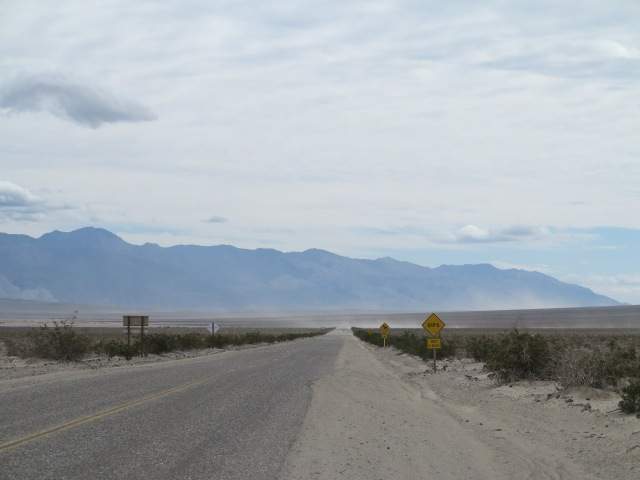 Going south on Panamint Valley Road