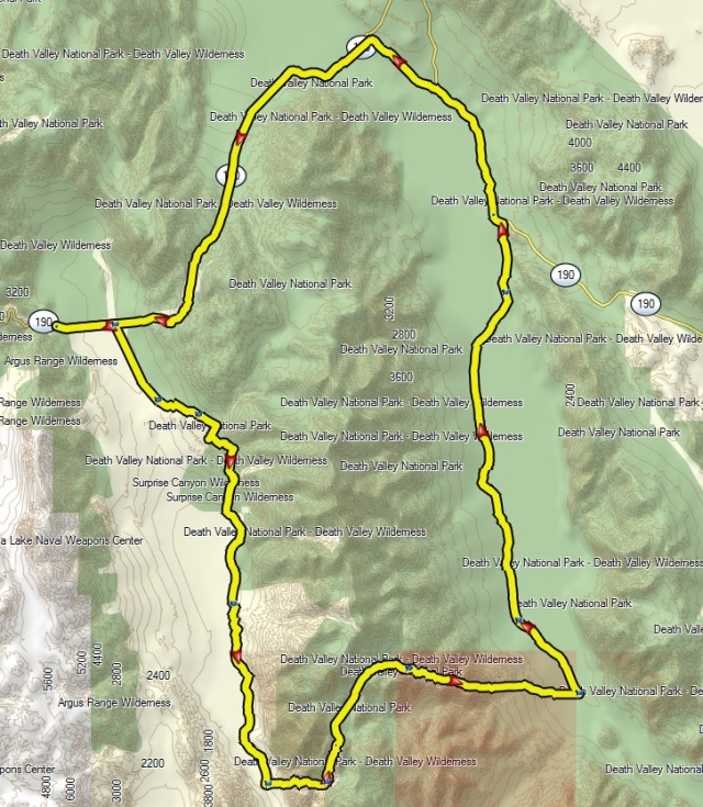 177-mile loop
