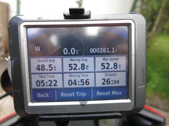My Garmin Nuvi 260. Retired in 2014 after 8 years of motorcycle use. It still works!