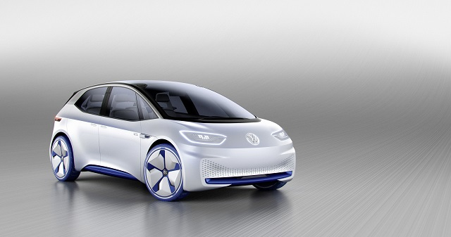 VW I.D. Concept Car, 2016 Paris Auto Show